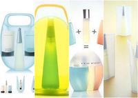 Frascos de perfumes conocidos diseñados por Karim Rashid