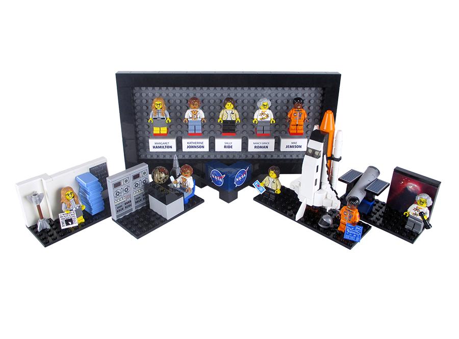 Lego Nasa Women 4