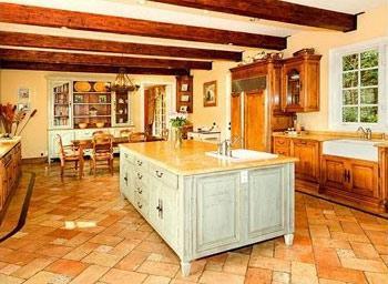 La cocina de Mischa Barton.