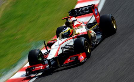 Pedro de la Rosa realiza con HRT una buena carrera en un circuito poco favorable