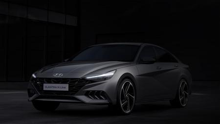 Hyundai Elantra 2021 integra por primera vez una versión N-Line a la gama