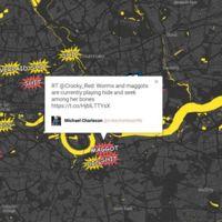 Lo mejor que puedes hacer cuando hay una huelga de metro: ver un mapa de insultos tuiteados en tiempo real