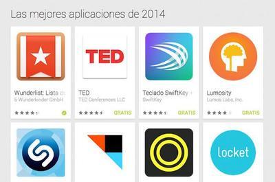 Google Play nos lista las mejores aplicaciones y juegos del 2014