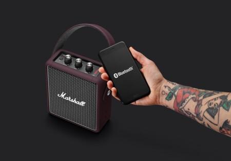 El altavoz Bluetooth portátil Marshall Stockwell II con diseño vintage está más barato que nunca en Amazon: 125 euros