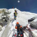 La subida al Everest, grabada en 360º para que todos podamos hacerla desde casa