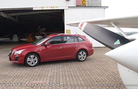 Chevrolet Cruze Station Wagon, presentación y prueba en Colonia (parte 2)