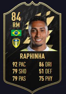 Raphinha fifa 22 totw 4 equipo de la semana