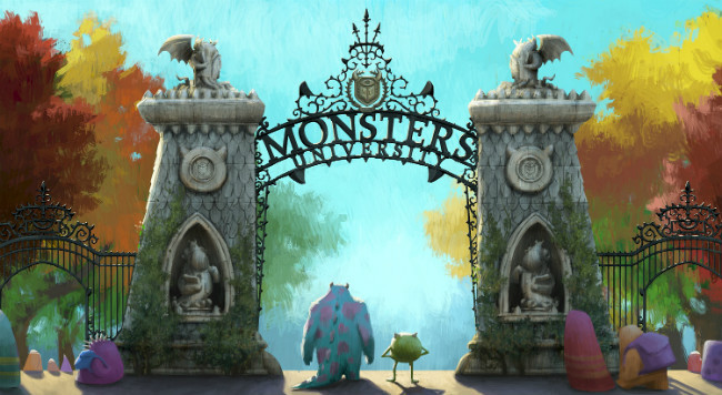 monster twitter university