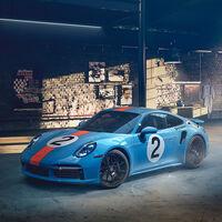 Este Porsche 911 Turbo S Gulf es único en el mundo: un homenaje de 650 CV en memoria de Pedro Rodríguez