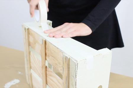 Cómo pintar una caja de fruta