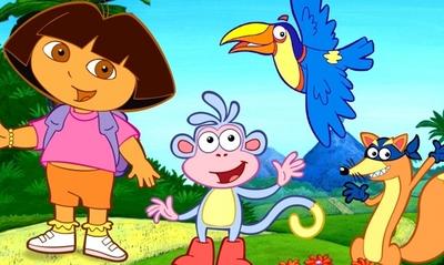 La tele que educa: 'Dora la exploradora'