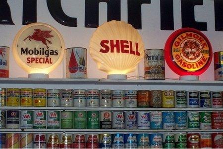 Carteles de marcas de aceite