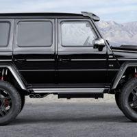 Mercedes-Benz G 500 4x4², todavía más bruto gracias a Brabus