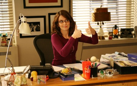 Liz Lemon 30 Rock Tina Fey Desk E1377713340888