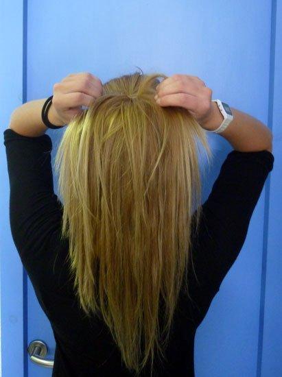 Colocar el pelo