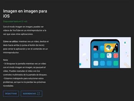 Probar Modo Pip Imagen En Imagen Youtube Ios Iphone Ipad Mexico