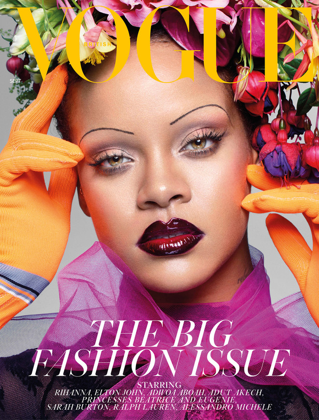 Rihanna Eyebrows Cover Man Repeller 2018 Copy