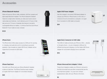 Accesorios para el iPhone: ya sabemos datos