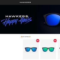 Happy Hours en Hawkers con descuentos de hasta un 50% en gafas de sol