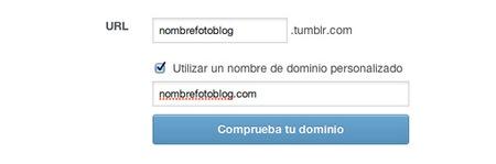 Dominio personalizado en Tumblr
