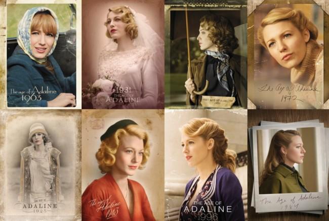 Carteles de 'El Secreto de Adaline'