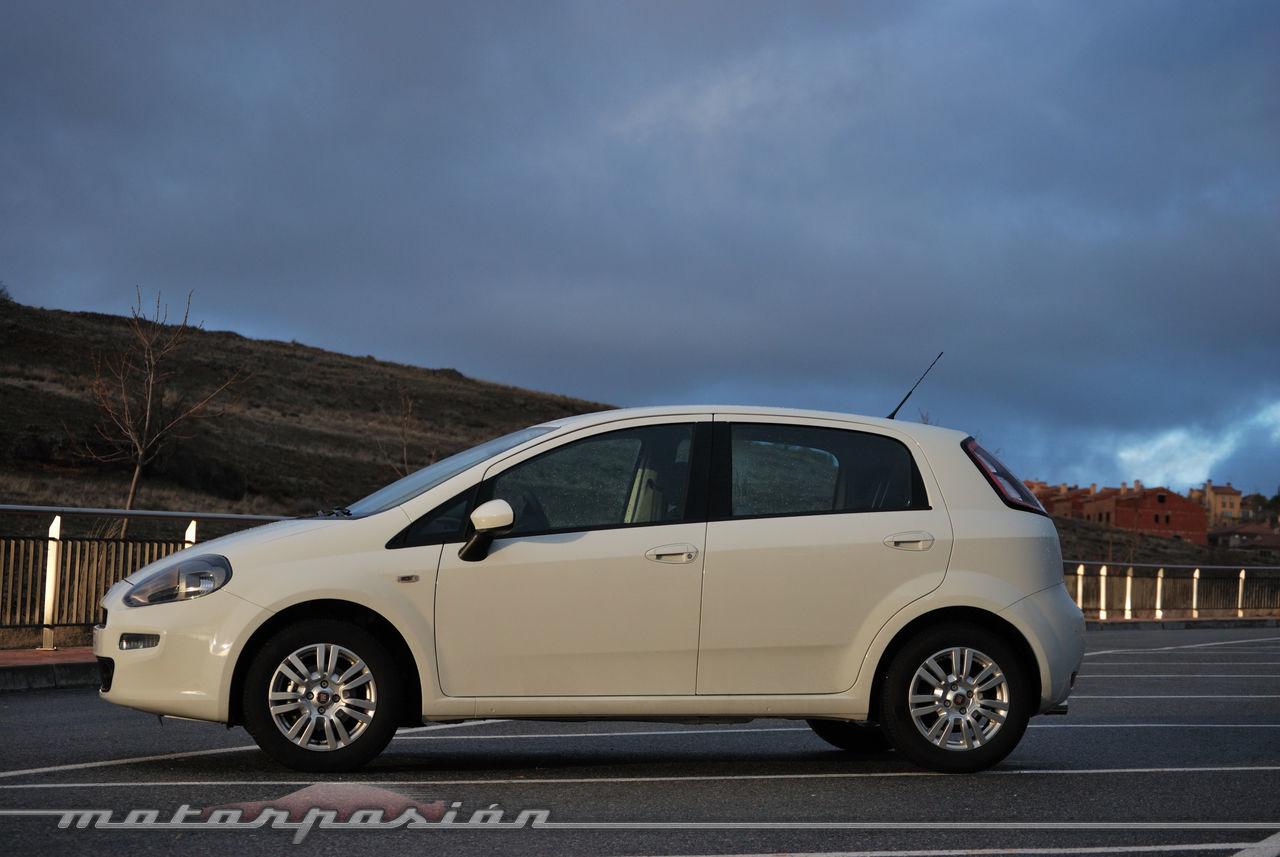 Foto de Fiat Punto 1.4 GLP (prueba) (34/70)