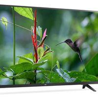 Vuelve la oferta: Smart TV de 55 pulgadas LG 55UJ620V, con resolución 4K, por 499,99 euros