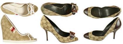 Colección de zapatos Gucci 2008