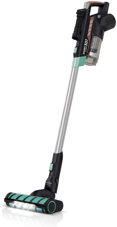 IKOHS Mambo VG301 - Aspiradora Vertical sin Cable 3 en 1, Aspirador Escoba y de Mano sin Bolsa, portátil para hogar, con Filtro HEPA, Batería 25,9V, deposito con 600ml, Multifuncional, Muy silencioso