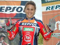Victoria de Laia Sanz en el Trial de Morella