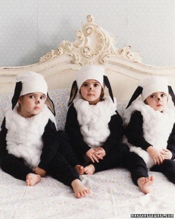 Disfraz de oveja.