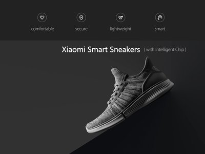 Oferta Flash: zapatillas deportivas Xiaomi Smart Snakers, con conectividad Bluetooth, por 33,16 euros