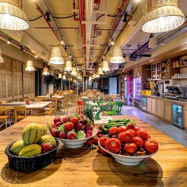Así es la comida de ensueño que Google sirve a sus trabajadores