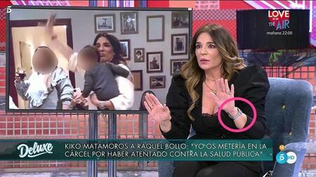 Sinverguenza Raquel Bollo Lapidada En El Deluxe Por Saltarse Las Medidas Anticovid