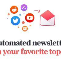 Mailbrew te permite empaquetar tus fuentes de información preferidas y recibirlas como newsletter