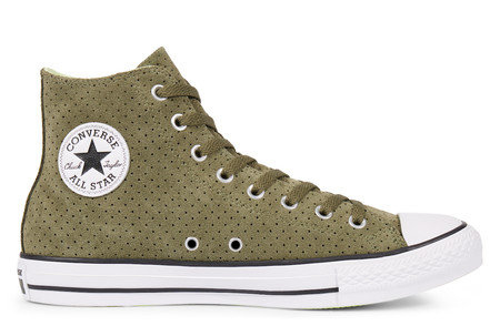 Chuck Taylor All Star Perforated Suede High Top