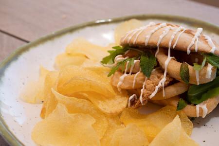 Mollete De Calamar Malagueno
