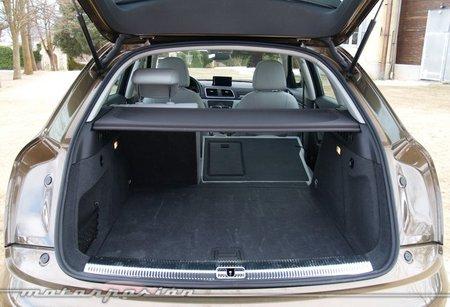 Audi Q3 quattro prueba maletero
