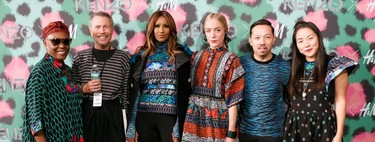 Sí, es posible lucir la colección de Kenzo x H&M en la calle y las famosas ya lo hacen