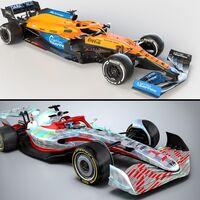 Fórmula 1 2022: así será la nueva generación de autos que competirán el próximo año para mejorar la acción en pista