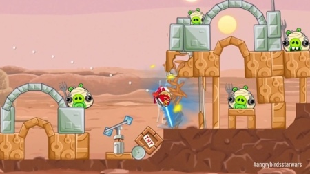 Rovio lanza un vídeo con gameplay de Angry Birds Star Wars