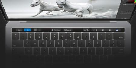 Adobe Photoshop ya soporta la Touch Bar del MacBook Pro en su última actualización