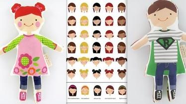 Muñecos personalizados de Sophie  and Lili