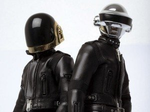 Muñecos de Daft Punk