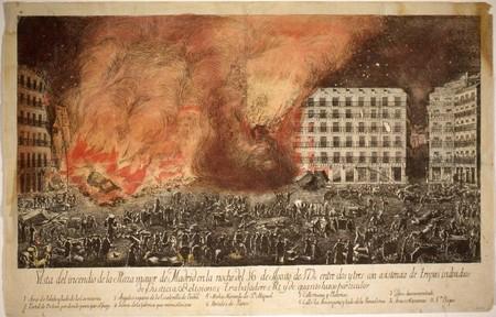 Incendio Plaza Mayor