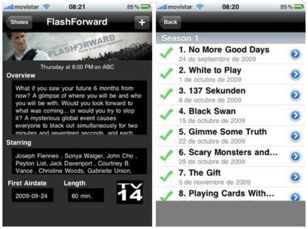 thetvdb, sigue tus series favoritas con tu iPhone