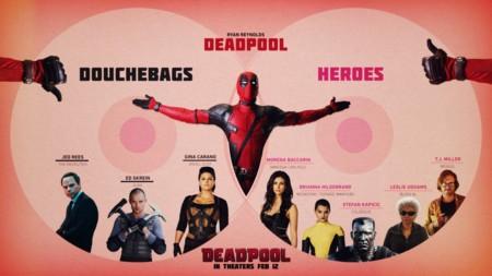 Los personajes de Deadpool en dos bandos
