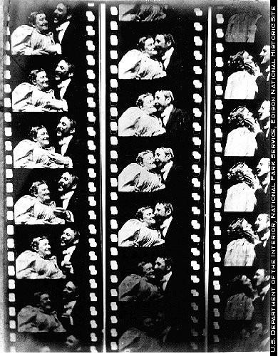 The Kiss 1896 Film Strip