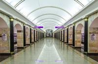 Infografía de las 5 estaciones de metro más profundas del mundo