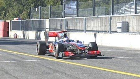 GP de Italia de Fórmula 1: Jenson Button se lleva el mejor tiempo